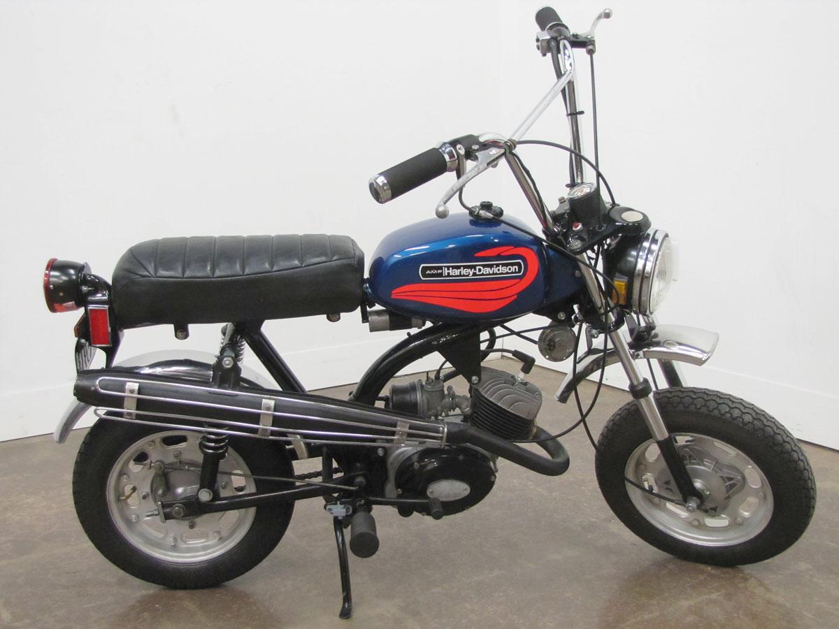 Moto del día: Harley-Davidson MC-65 Shortster