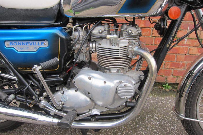 Triumph Bonneville T140 LE Royal Wedding