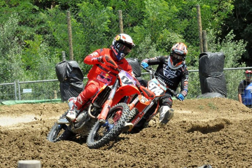Andrea Dovizioso se lesiona la clavícula izquierda haciendo motocross