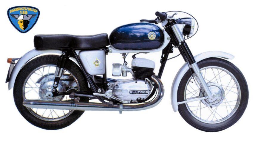Moto del día: Bultaco Mercurio 155 (Modelo 9)