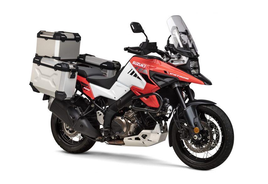 Suzuki lanza seis kits de accesorios para la nueva Suzuki V-Strom 1050