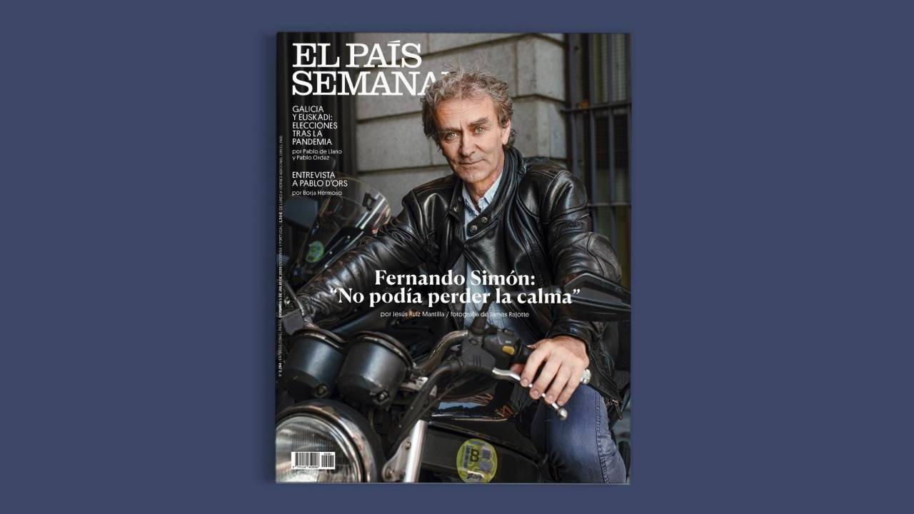 Fernando Simón se revela como el motero de moda