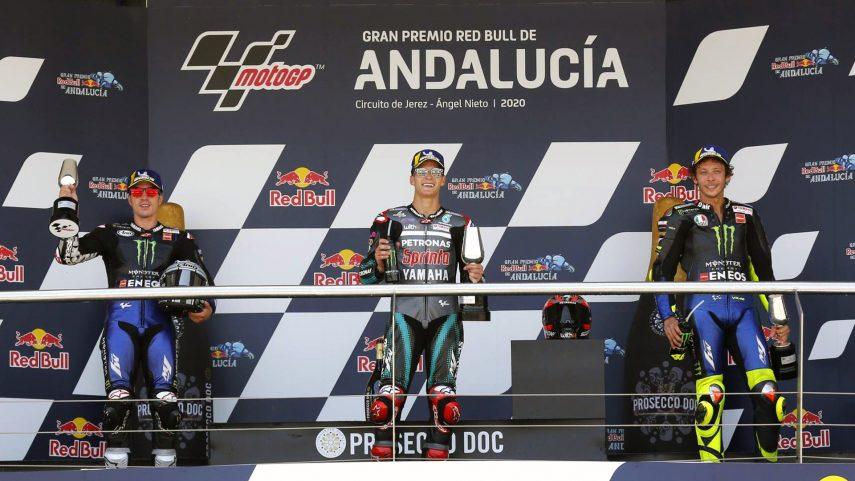 Quartararo domina en MotoGP, Bastianini gana en Moto2 y Suzuki se lleva la victoria en Moto3