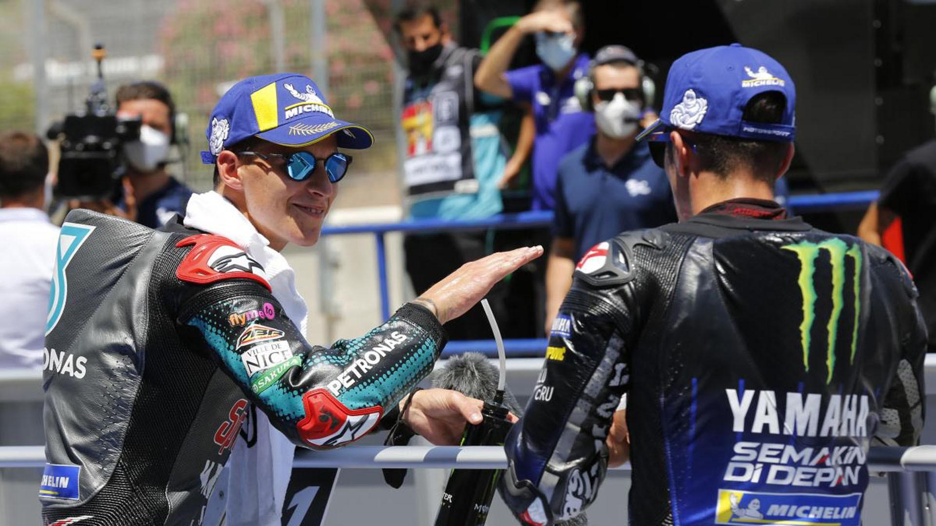 Quartararo domina en Moto GP, pole para Bezecchi en Moto 2 y Suzuki repite primera posición en Moto 3