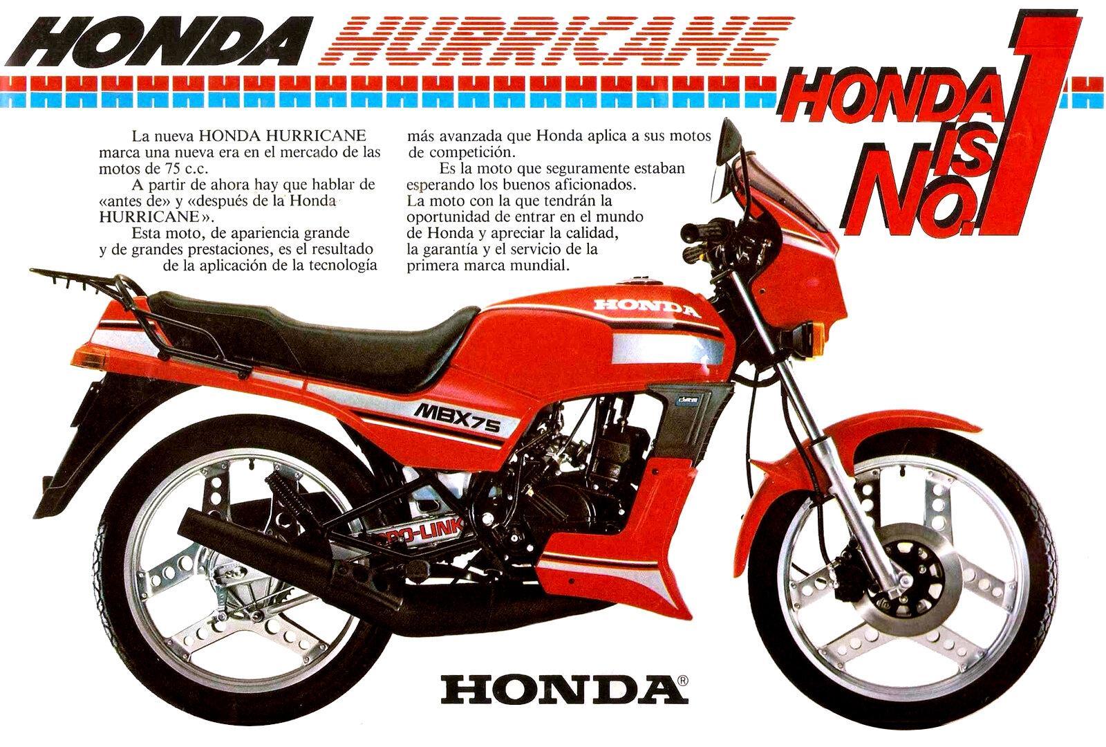 Honda MBX 75 Hurricane 2