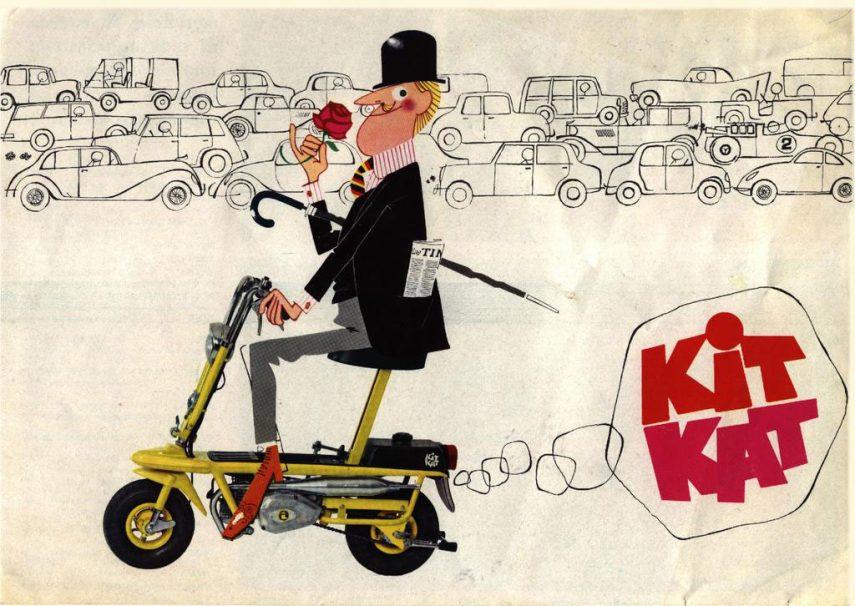 Moto del día: Italjet Kit Kat