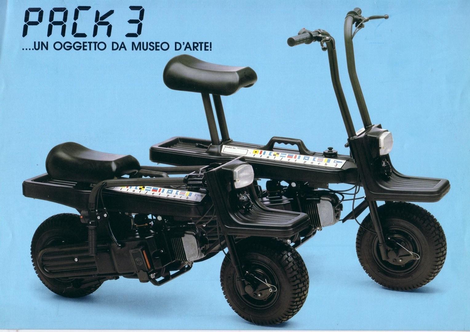 Moto del día: Italjet Pack 2 y Pack 3