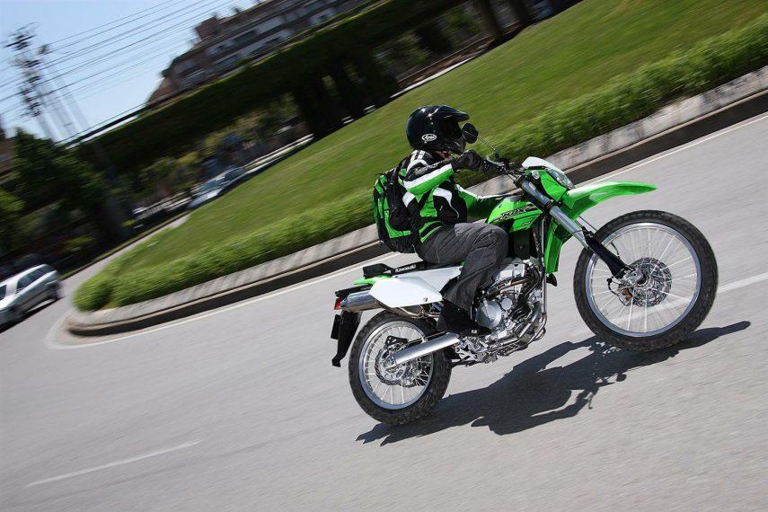Moto del día: Kawasaki KLX 250