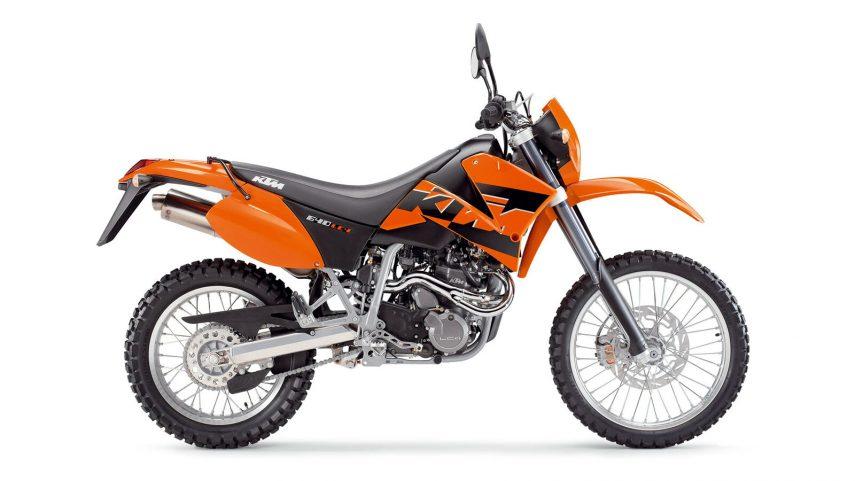 Moto del día: KTM 640 LC4 Enduro