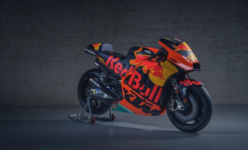 ¿Quieres una MotoGP? Pues aprovecha, porque hay dos KTM RC 16 a la venta