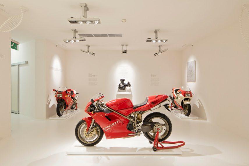El Museo Ducati ha reabierto sus puertas