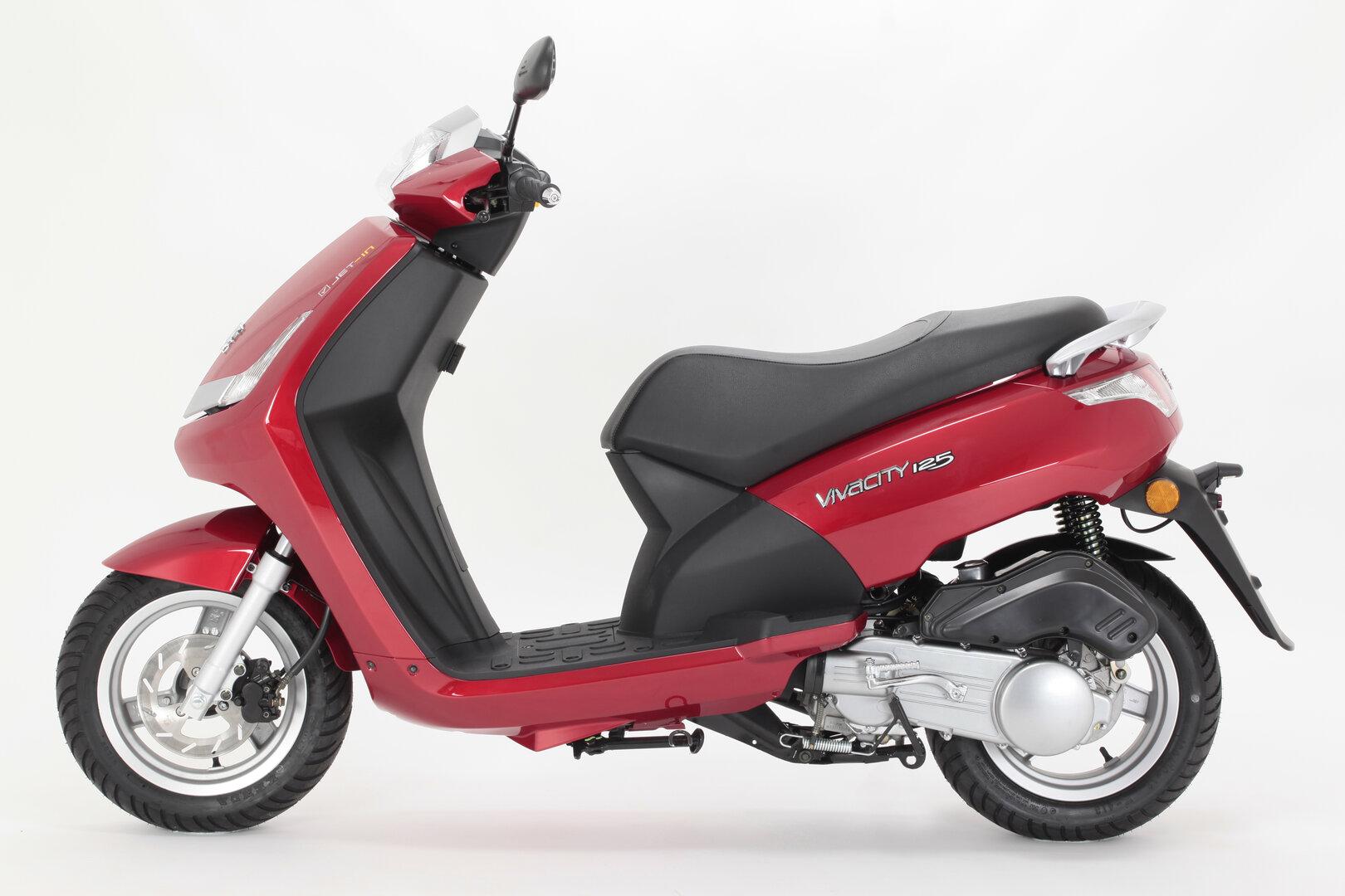 Moto del día: Peugeot Vivacity 125