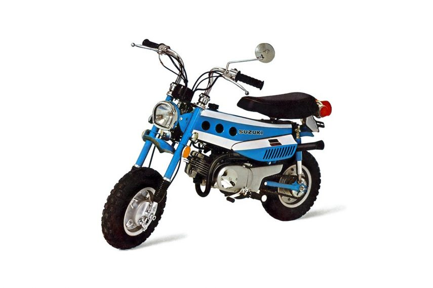 Moto del día: Suzuki MT 50 Trailhopper