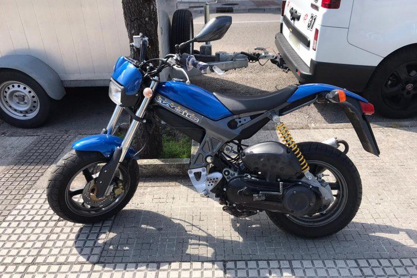 Moto del día: Suzuki TR 50 Street Magic