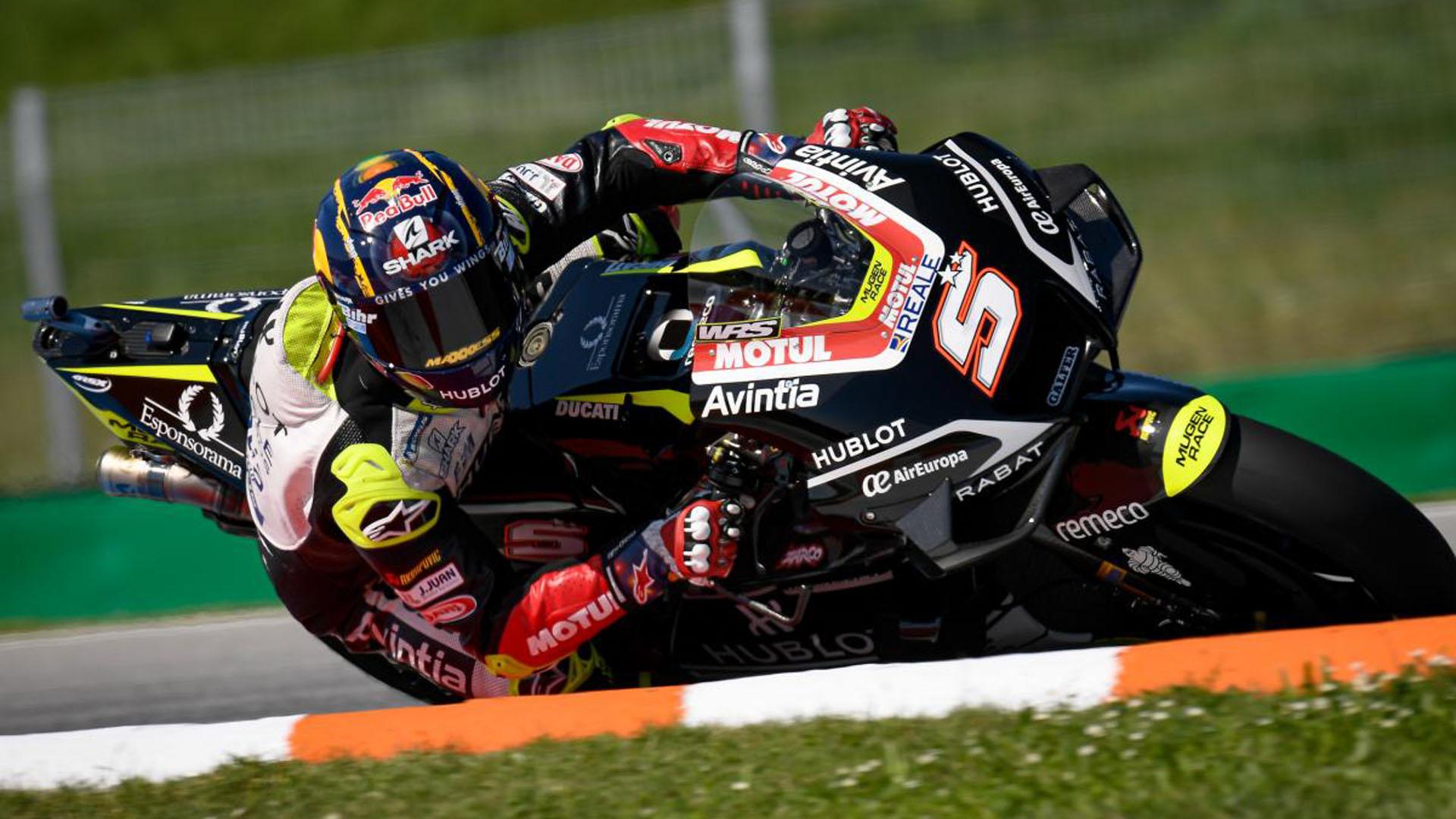 Zarco consigue la pole en MotoGP, Raúl Fernández domina en Moto3 y Roberts primero en Moto2