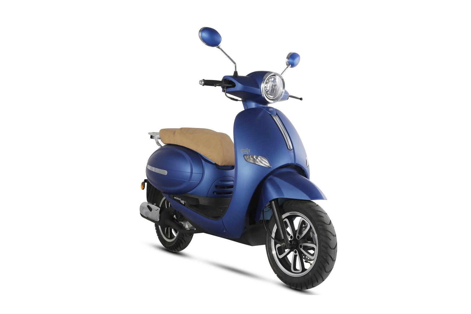 KSR Quip 125 y 50: un scooter de aire retro a precio imbatible