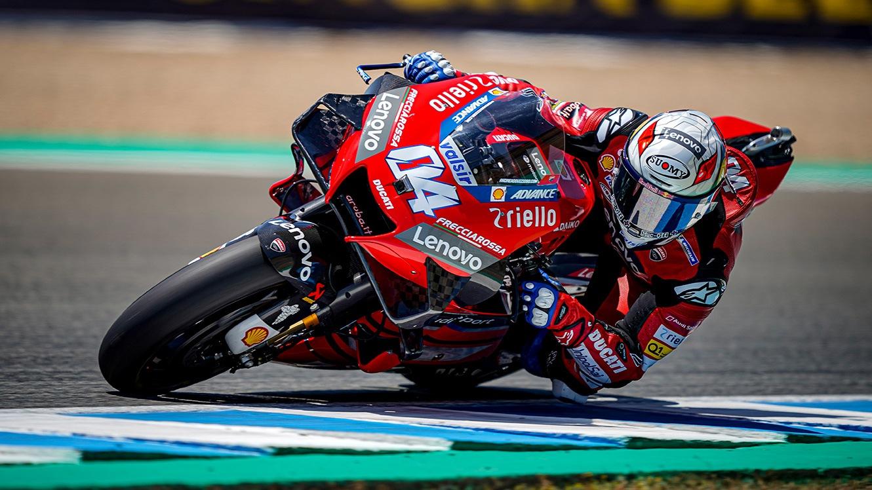 Dovizioso gana en MotoGP, Arenas lo hace en Moto3 y Jorge Martín logra su primera victoria en Moto2