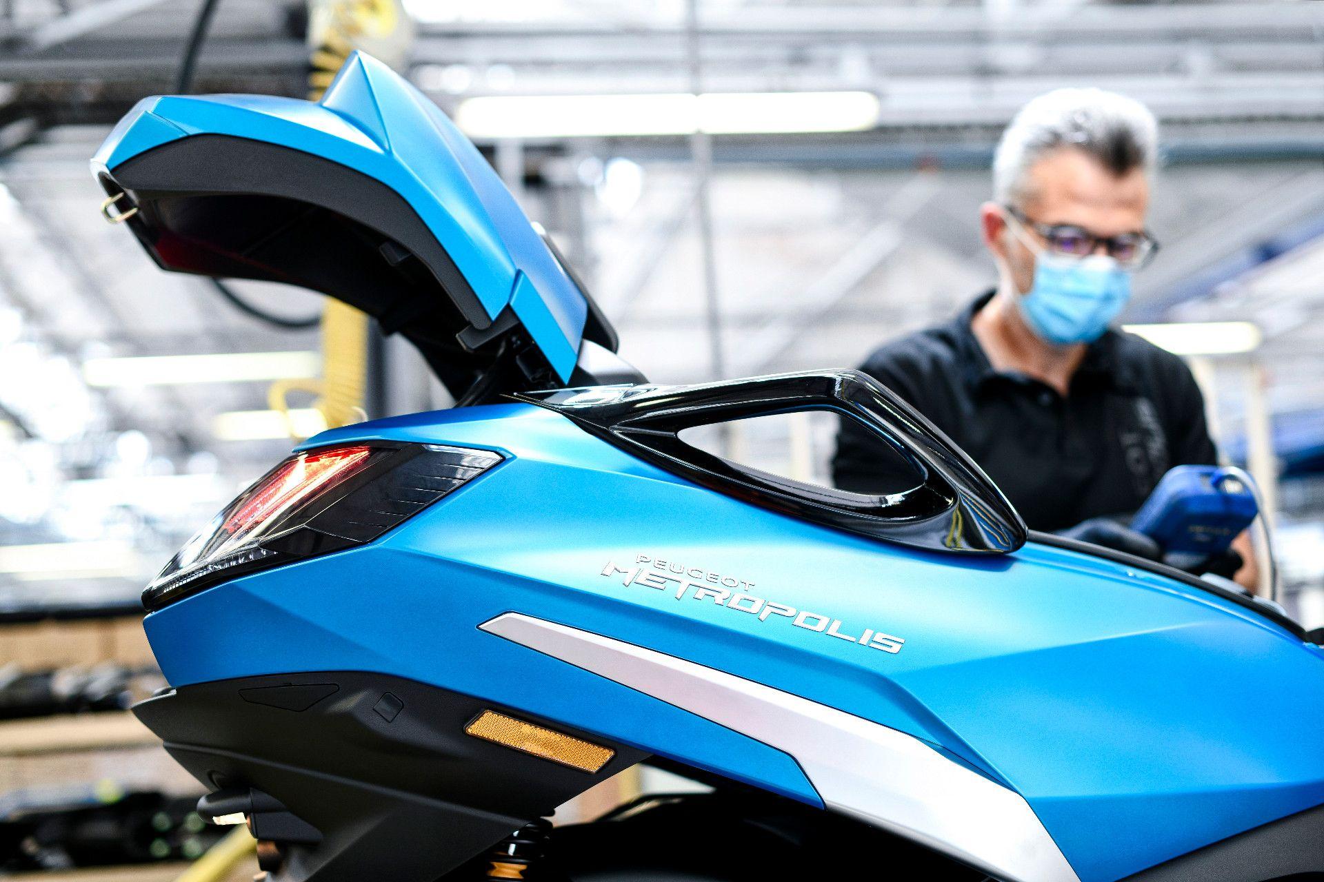 Empieza la producción del Peugeot Metropolis 2020 en Mandeure
