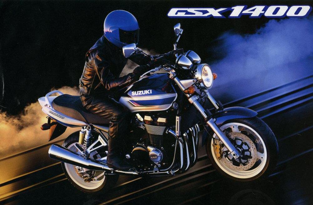 Moto del día: Suzuki GSX 1400