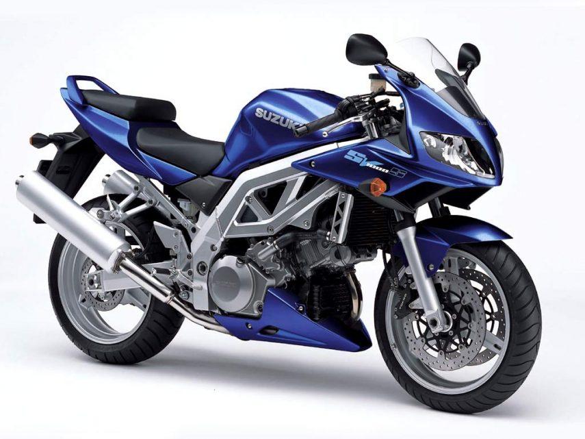 Moto del día: Suzuki SV 1000 S