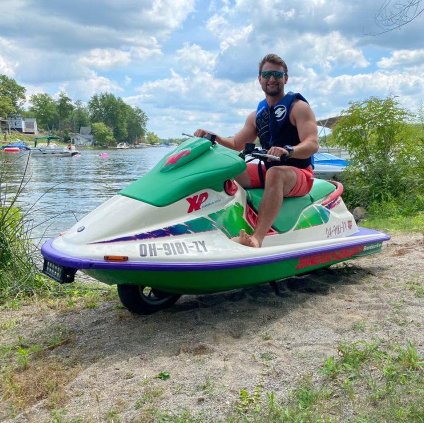 Toledo Seascoot, el Suzuki Burgman que quiso ser moto de agua