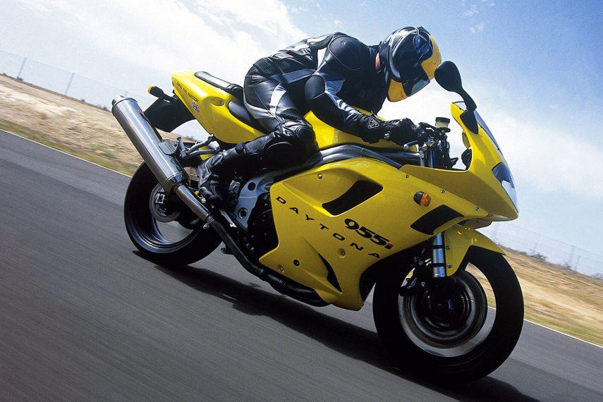 Moto del dia: Triumph Daytona 955i