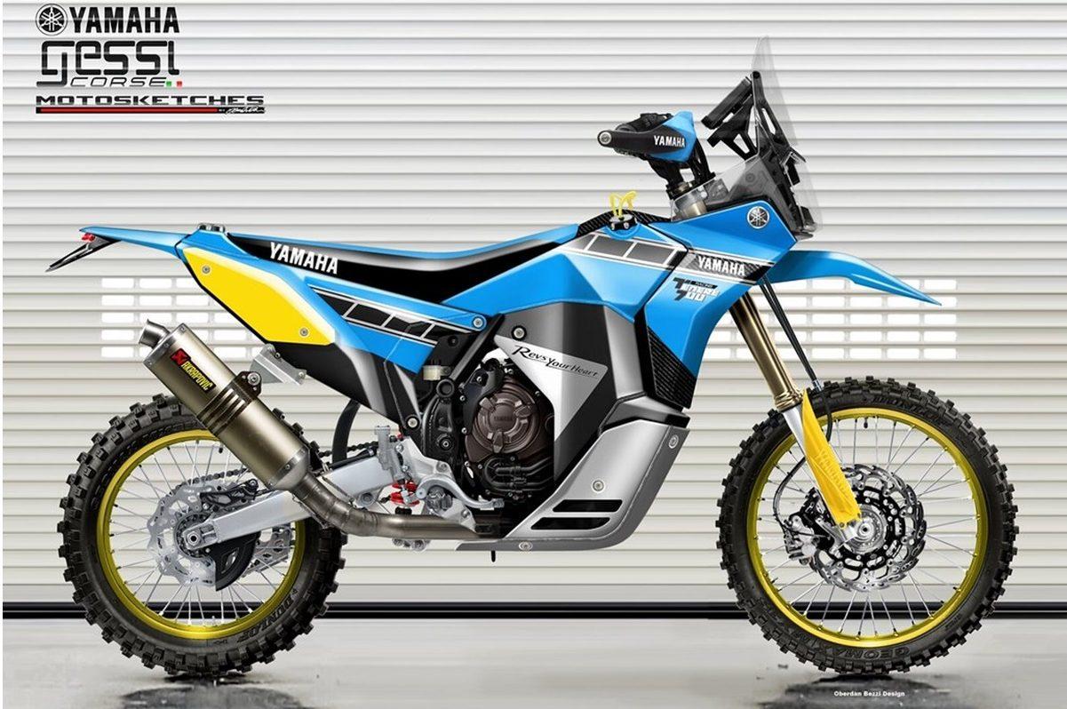 Yamaha Ténéré 700 Rally Racer por Oberdan Bezzi y Gessi Motociclette