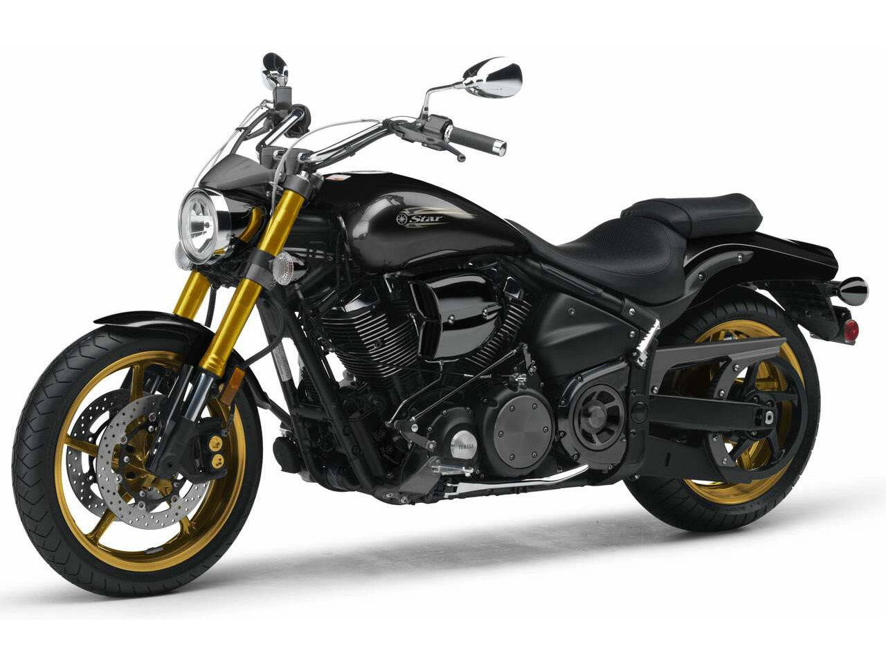 Yamaha XV 1700 Road Star Midnight Warrior 2