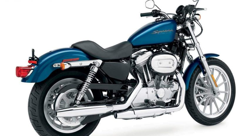 1986 Harley Davidson Sportster XLH 883 1