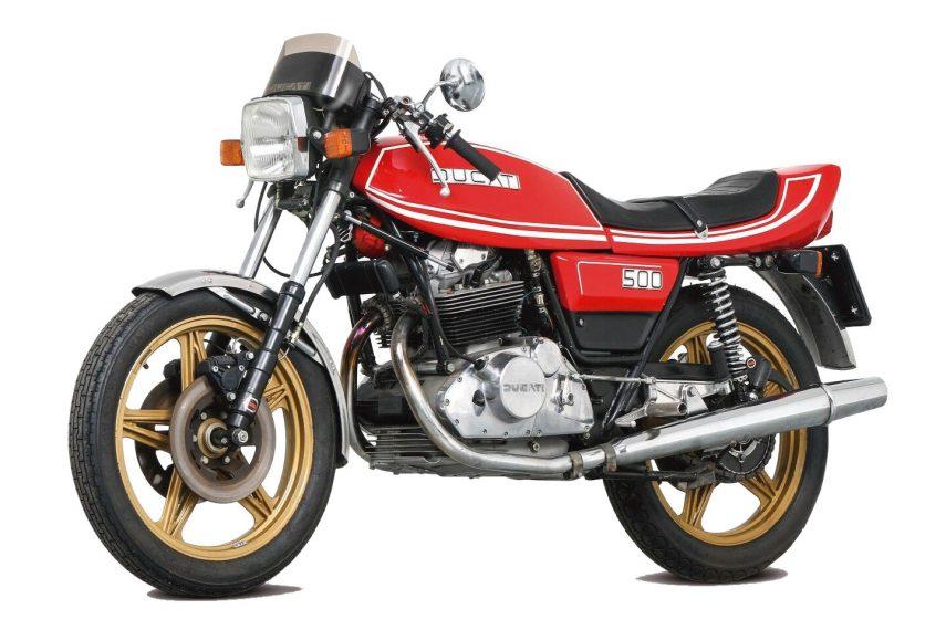 Moto del día: Ducati 500 Desmo