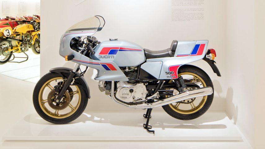 Moto del día: Ducati 500 SL Pantah