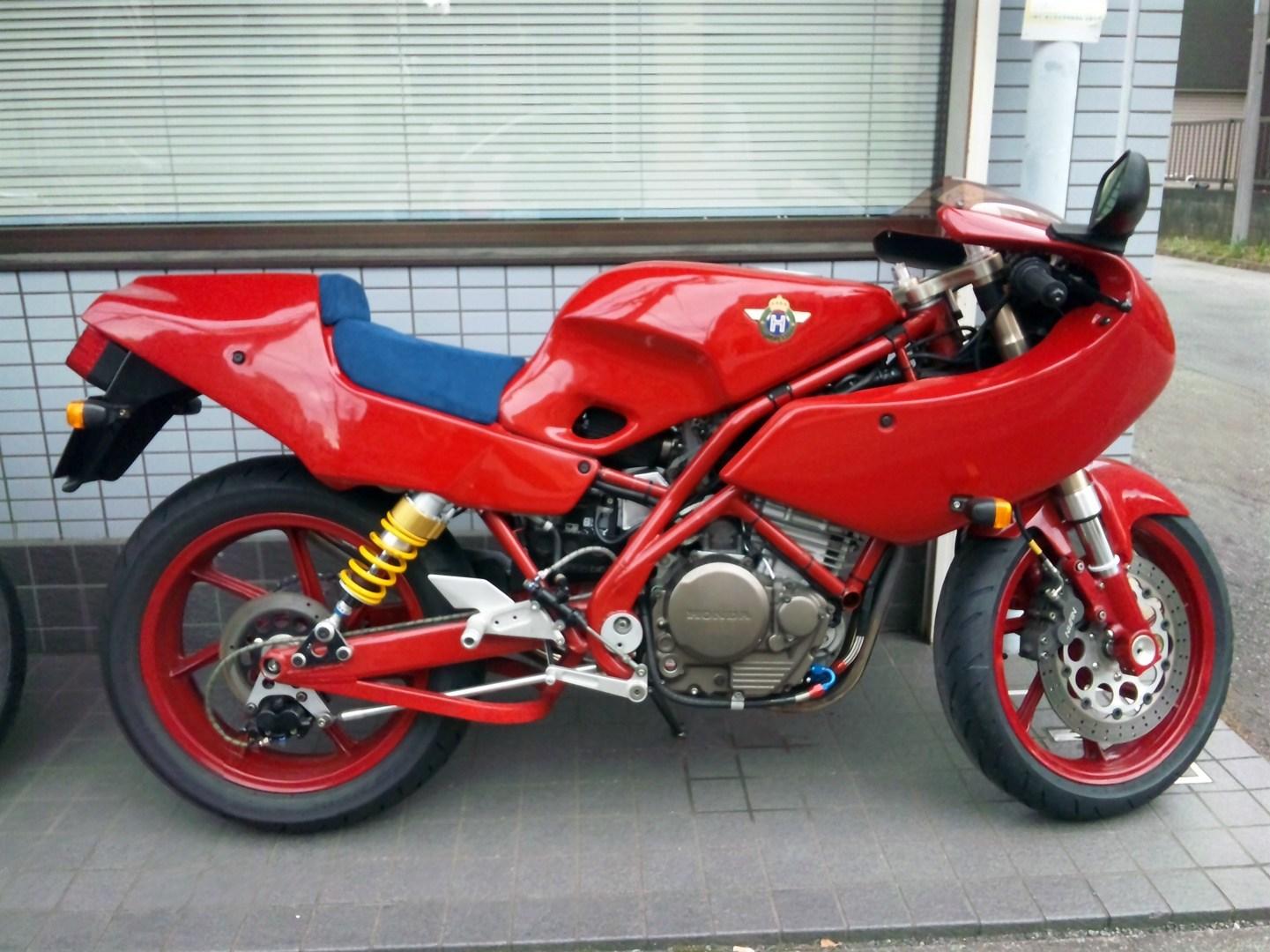 Moto del día: Mondial Piega 1000 | espíritu RACER moto