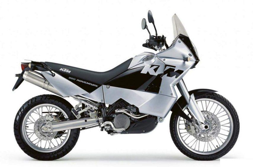 Moto del día: KTM 950 Adventure