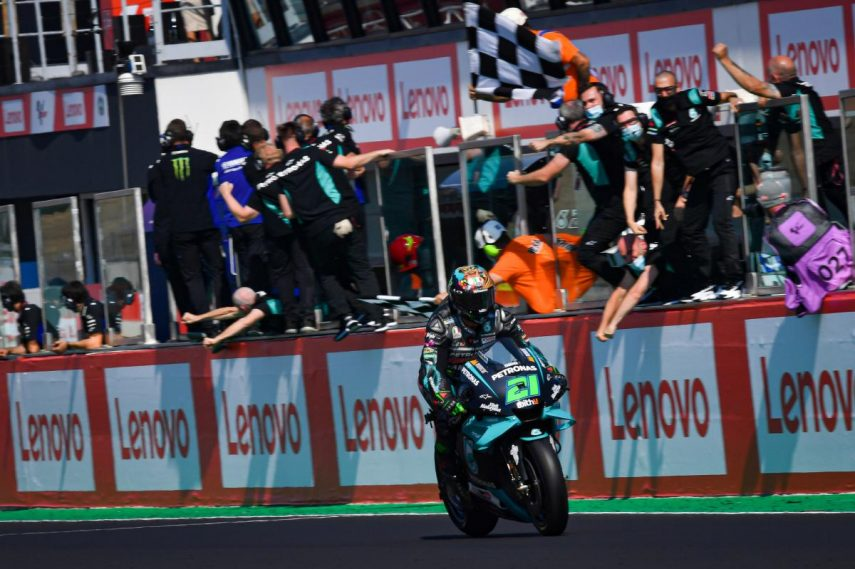 Franco Morbidelli logra la primera victoria de su carrera en MotoGP