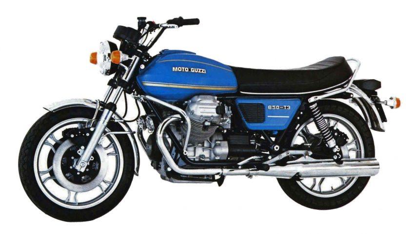 Moto del día: Moto Guzzi 850 T3