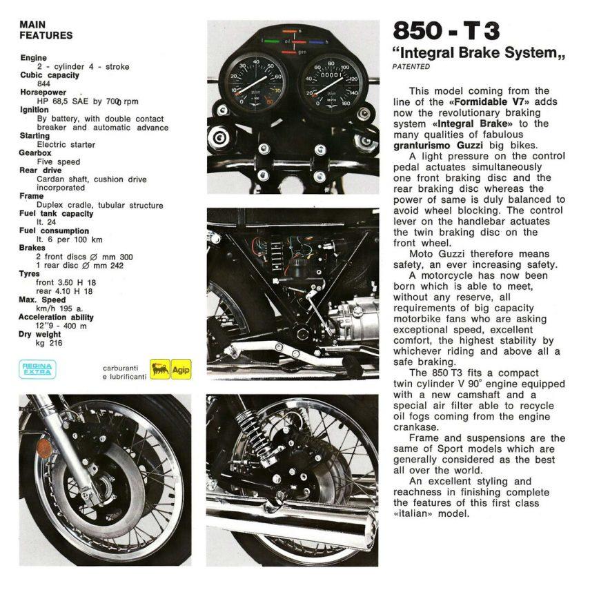 Moto Guzzi 850 T3 5