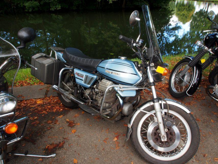 Moto del día: Moto Guzzi V1000 I-Convert