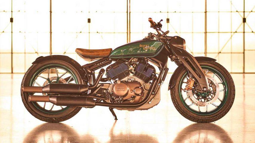 Royal Enfield trabaja en la versión de producción de la KX Concept