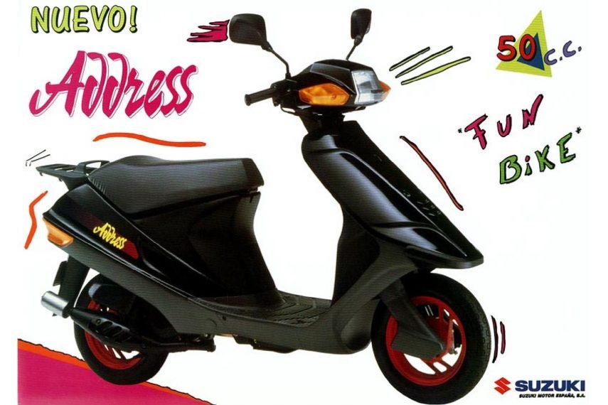 Moto del día: Suzuki Address 50