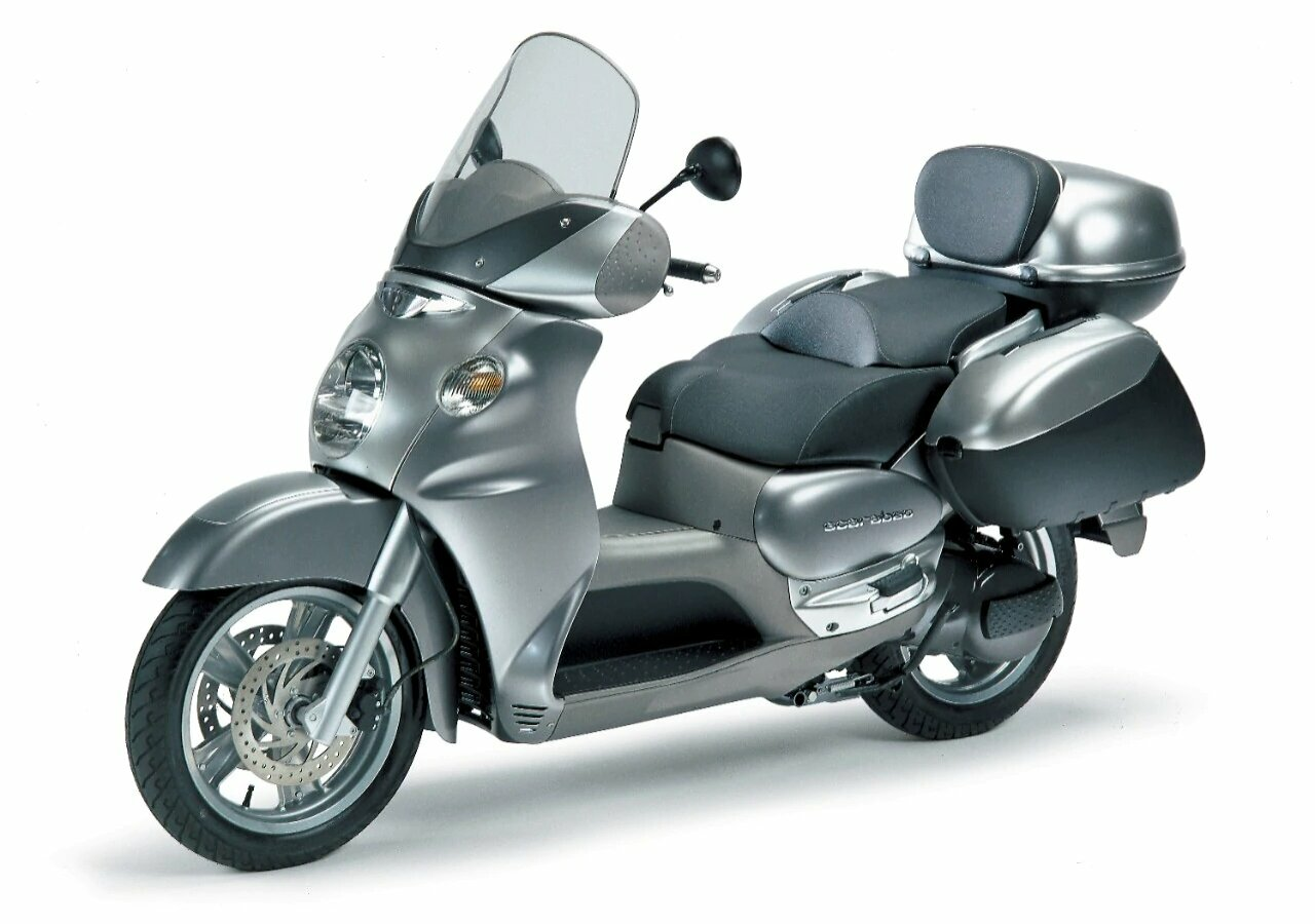 Moto del día: Aprilia Scarabeo 500