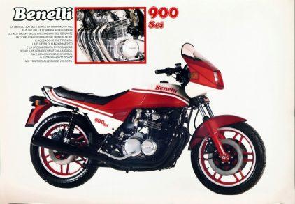 Benelli 900 Sei catalogo 1