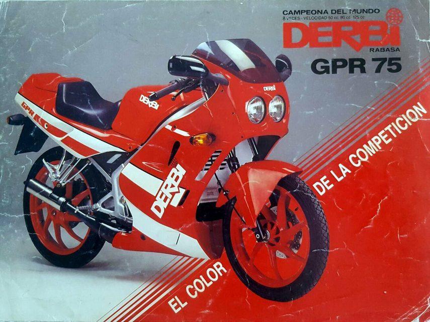 Moto del día: Derbi GPR 75