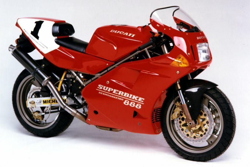 Moto del día: Ducati 888