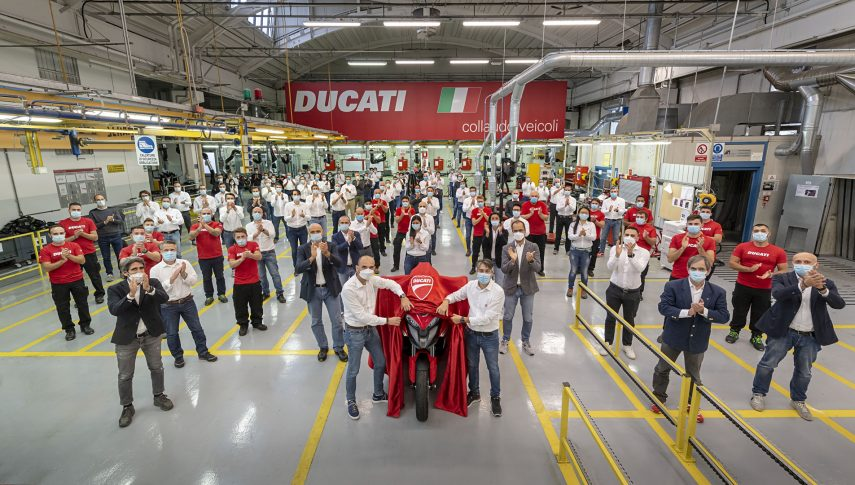 DUCATI MultistradaV4 development team