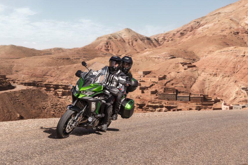 Se presentan las nuevas Kawasaki Versys 1000 S y Versys 1000 SE 2021