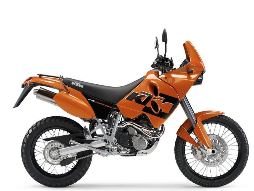 Moto del día: KTM 640 Adventure