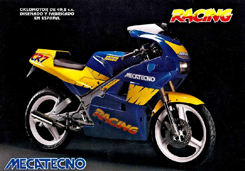 Moto del día: Mecatecno Racing CR7/CR8