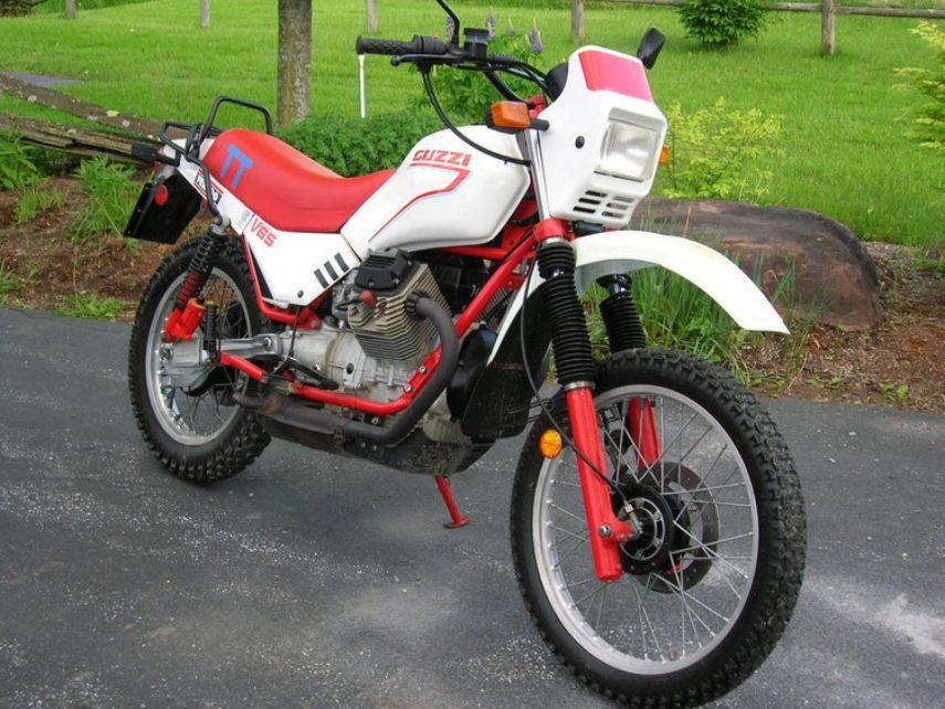 Moto del día: Moto Guzzi V65 TT