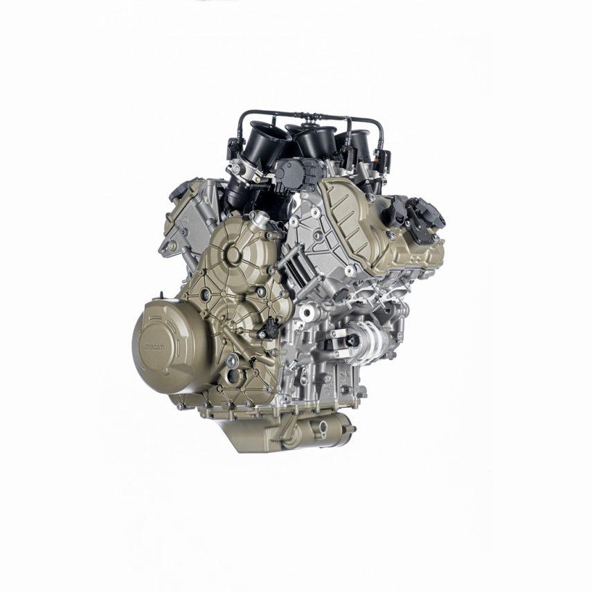 Ducati desvela el motor de la Multistrada V4 sin distribución desmodrómica