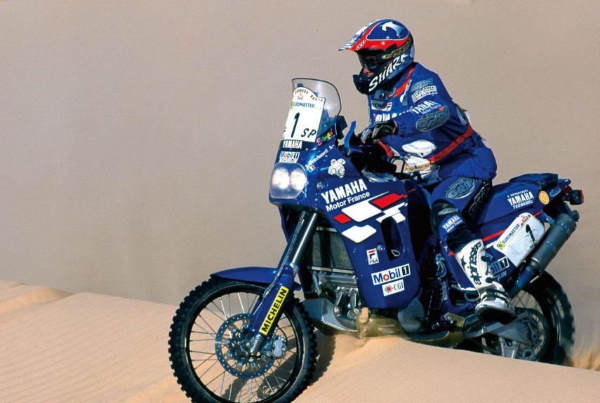 Moto del día: Yamaha XTZ 850 R